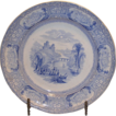 TJ&J Mayer Burslem Luncheon Plate in the Florentine pattern.