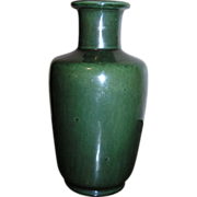 Van Briggle Rare Gloss Green Vase