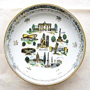 Souvenir of Berlin, Germany Dish