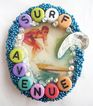 Surf Avenue Hawaii Surfer Dude Rhinestone Pin