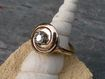 Retro 14K Yellow Gold ~.375 Diamond Ring