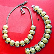 Gorgeous Parure - Necklace and Bracelet