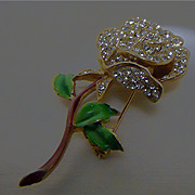 Kramer of New York Flower Brooch