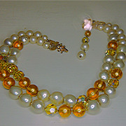DeMario Double Strand Necklace