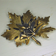 Unique Leaf Brooch