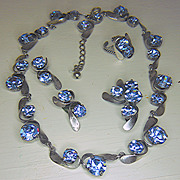 5 - Piece Blue Headlight Parure