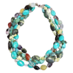 Four Strand Chinese Turquoise Necklace