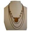 Montana Jasper Pendant, with multi-strand chains