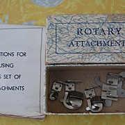 Attachments for Vintage Greist sewing machines
