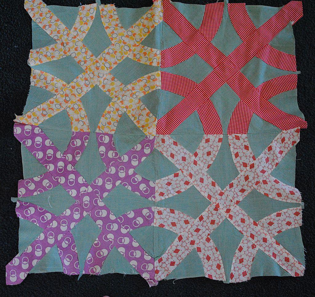 daffodil quilt block pattern