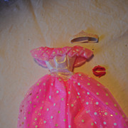 Mid 1980's Barbie clothes, Fantasy Evening Pink gown