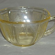 SALE Anchor Hocking Depression Glass Princess Cups