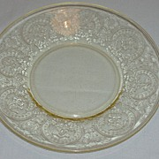 SALE Indiana Depression Glass Horseshoe Saucers - RARE