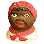 Vintage Aunt Jemima/ Mammy jar lid