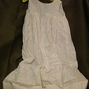 Beautiful slip for a Christening dress