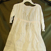 Antique child's dress for a large doll