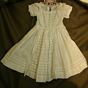 Pretty Antique doll dress