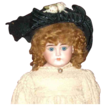 Great antique straw hat for your large doll