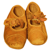 SALE Wonderful Antique shoes for a child or large doll