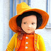 "Large 23"" Norah Wellings Gaucho Doll"