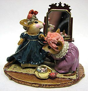 "Wee Forest Folk - ""A Stitch in Time"" Sculpture Ltd. Ed."