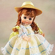 "SALE Madame Alexander Doll Club Special ""Polly Pigtails"""