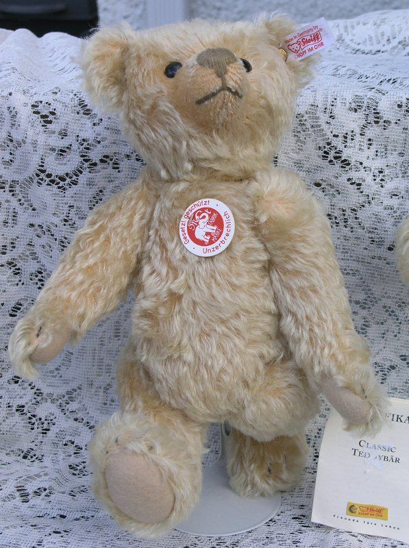 Limited Edition Blonde Teddy by Steiff for their 100th Anniversary