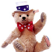 SALE Steiff Limited Edition All American Teddy
