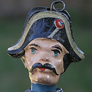 Composition Doll In British Royal Navy Dress Uniform
