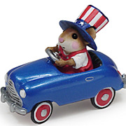 Wee Forest Folk Pedal Pusher 4th of July