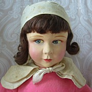 SALE PENDING Raynal French Cloth Doll in Original Costume