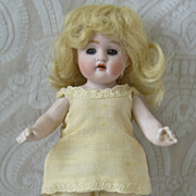 German All Bisque Doll by Kestner