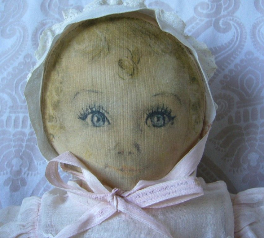Averill Cloth Doll &quot;Sweets&quot; Designed by Maude Tausey Fangel