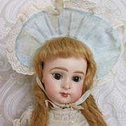 Beautiful French Bisque Head Character Doll Paris Bebe by Jumeau