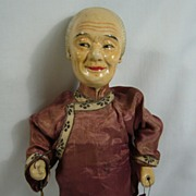 SALE Chinese Composition Character Lady Doll with Pipe