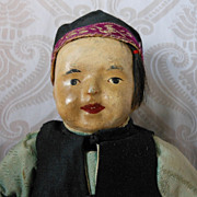 Chinese Cloth Boy in Original Costume