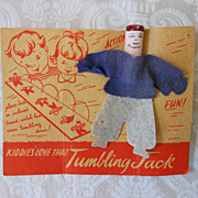 Tumbling Jack Vintage Toy
