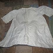 REDUCED Antique Calico Baby Dress Excellent