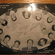 REDUCED Rare 1940s NBC TV Show Quiz Kids Postcard