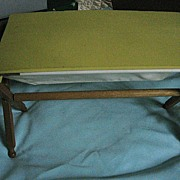 SALE Wooden Vintage Doll Bassinet for Ginny Sized Dolls
