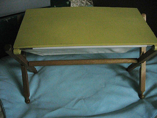 Wooden Vintage Doll Bassinet for Ginny Sized Dolls