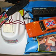 SALE Pop Culture Lovers Rare Dukes of Hazzard Toy Set from HG Toys