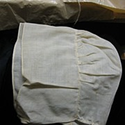 SALE Antique Mennonite Girls Bonnet Handstitched