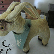 REDUCED Old Colligiate MWC Toy Goat Mascot by Personality Pet of Ames Iowa