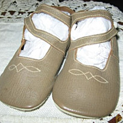 SALE Adorable Leather Baby Shoes from 1920-30s Excellent Condition