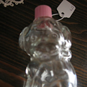 Cute Vintage Puppy Shaped Bottle Perfume Bottle Candy Container