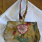 Old Handmade Childs Purse Sewing Project
