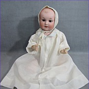 "SALE Scarce German Character Baby Doll ""Baby Bobby"""
