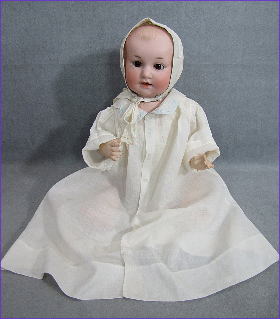 "Scarce German Character Baby Doll ""Baby Bobby"""