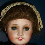 "18"" Unis France 301 Bisque Head French Doll  in French Costume"